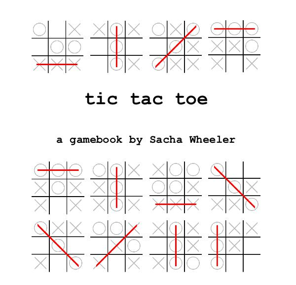 tic-tac-toe: a gamebook